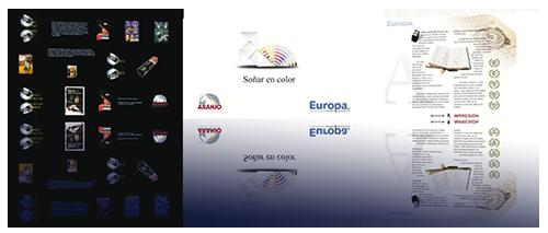web empresa artes gráficas imprenta
