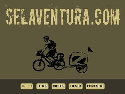 Web Viaje Aventura Bicicleta Cicloturismo