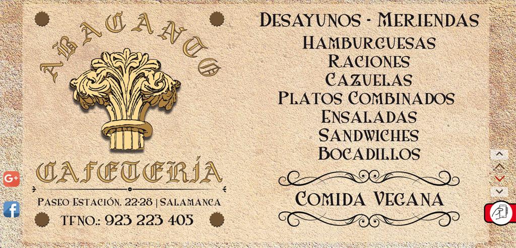 restaurante cafetería elnuevoabacanto
