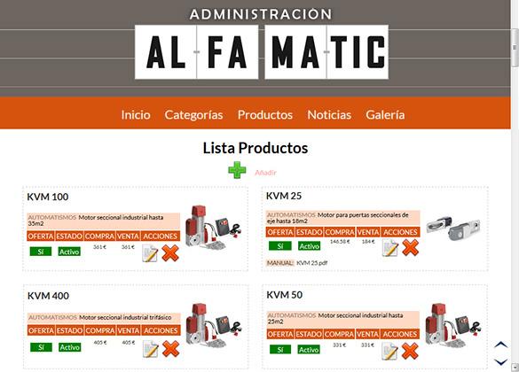 administración alfamatic.es