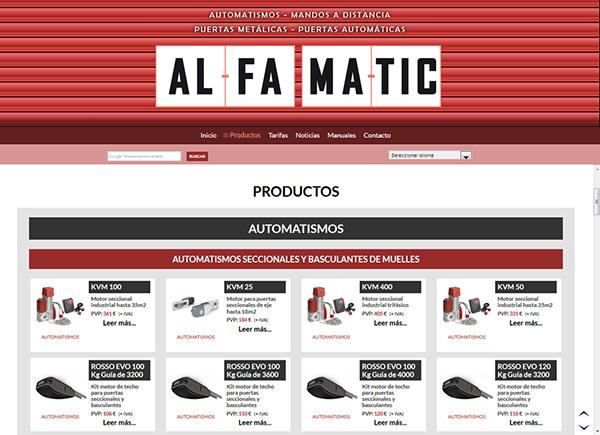 front alfamatic.es