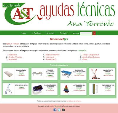 Ayudas Técnicas Ana Torrente - Productos de Apoyo - Productos geriátricos