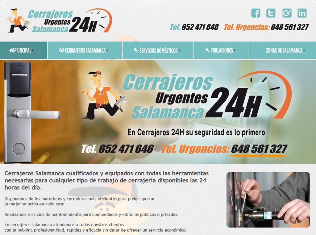 Cerrajeros Urgentes Salamanca 24 horas