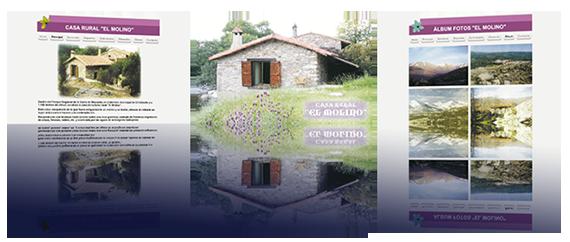 web casa rural molino mágico