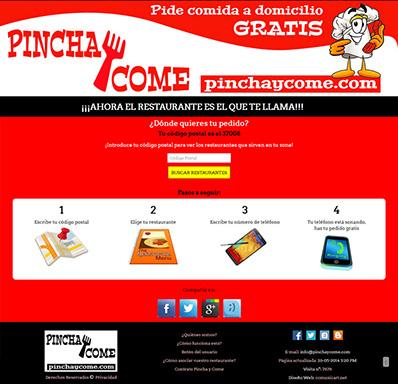 Comida a Domicilio Pincha y Come