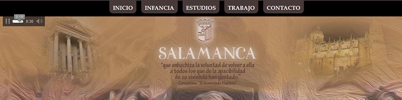 Salamanca que enhechiza la voluntad de volver a ella a todos los que la apacibilidad de su vivienda han gustado, Miguel de Cervantes 'El licenciado vidriera'