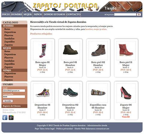 zapatos baratos de ocasión salamanca