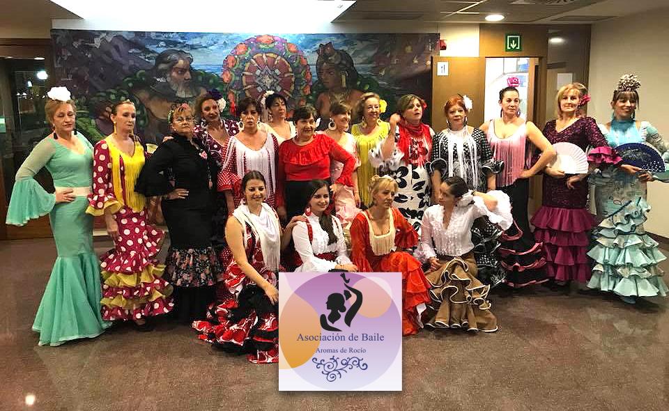 "Asociacion de Baile ""Aromas del Rocío"" de Salamanca"