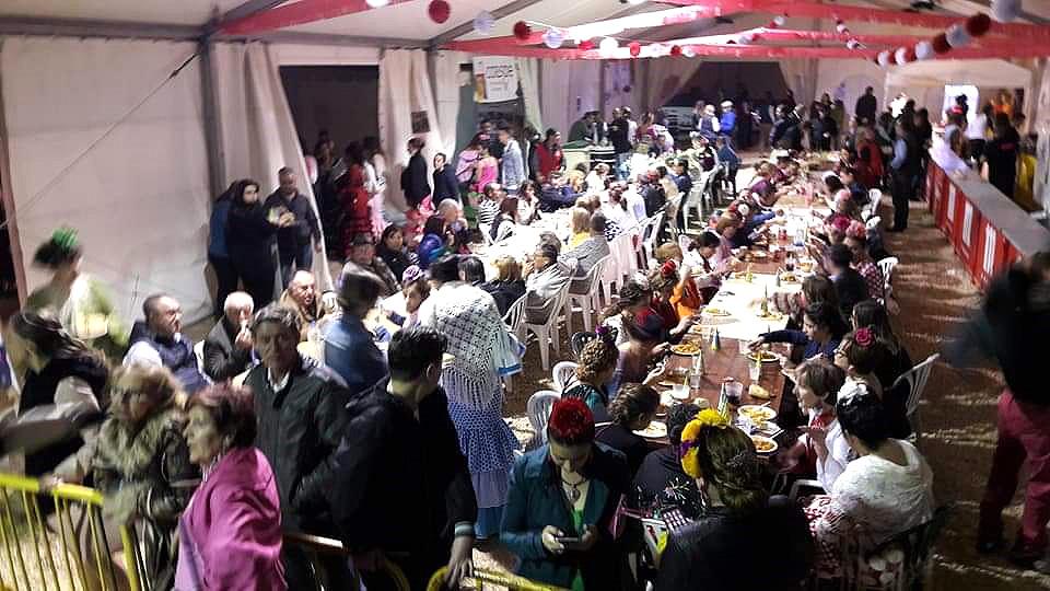 Feria Abril Comida de Hermandad